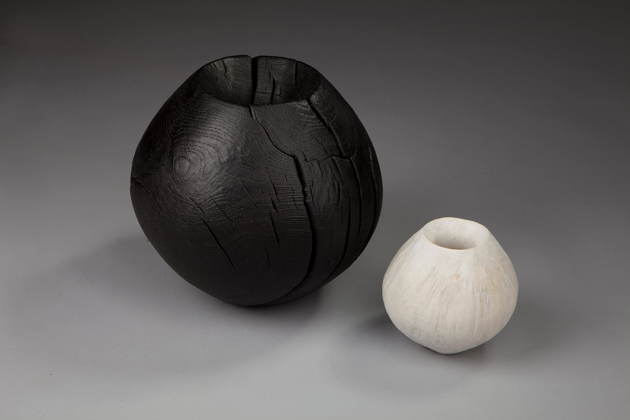 Scorched Sphere and Bleached Sphere, 2014