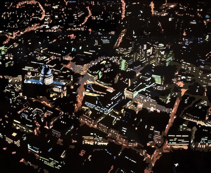 St Pauls at Night XIII, London, 2014