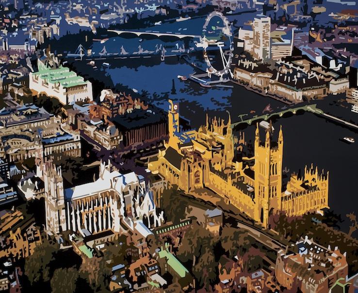 Above Westminster IX, London, 2014