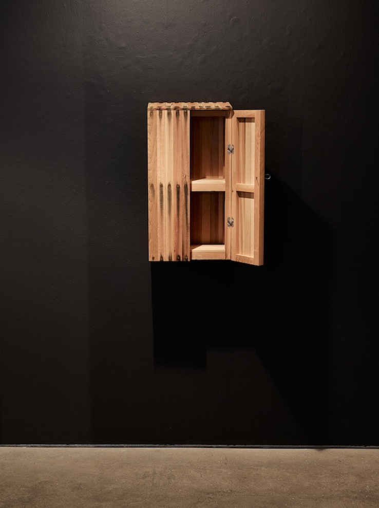 Small Bleed Wall Cabinet, 2014
