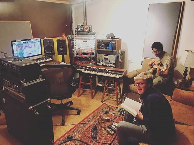 making a #record #whilereadingfaust @foxhollowofficial