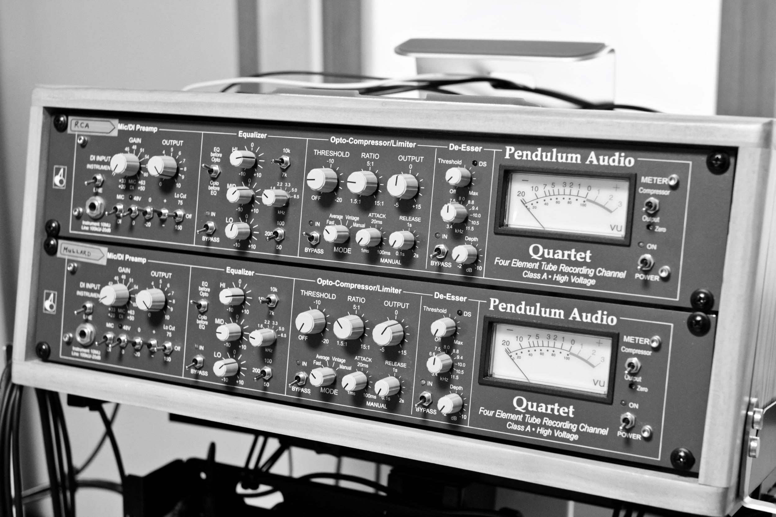 Pendulum Audio Quartets