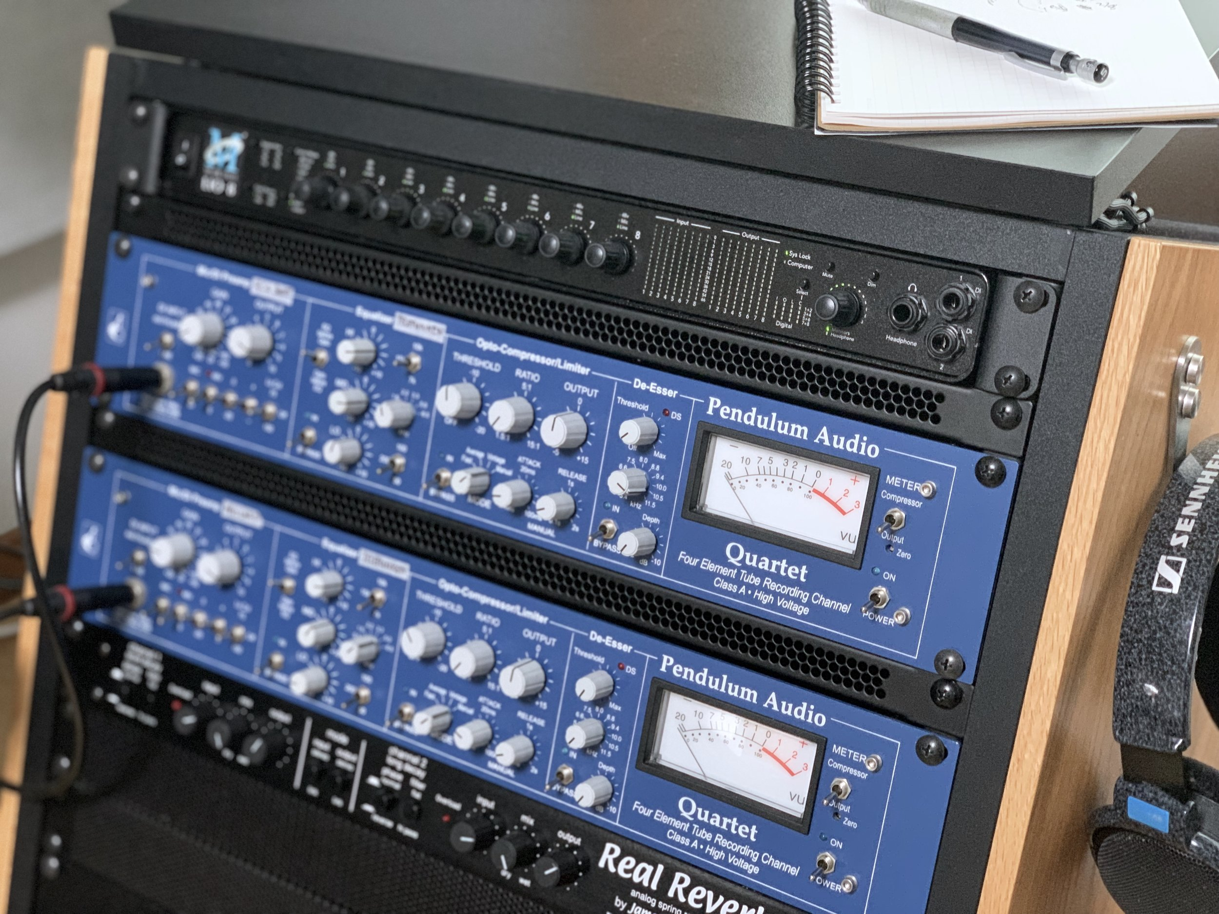 LIO-8 RECORDING RACK