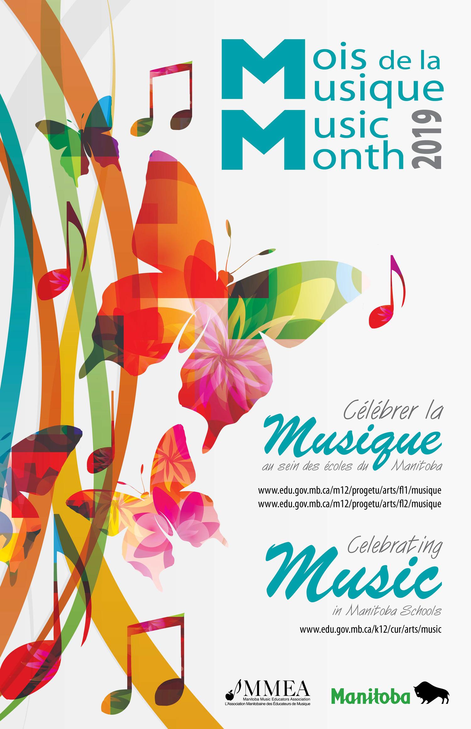 Manitoba Music Month poster 2019