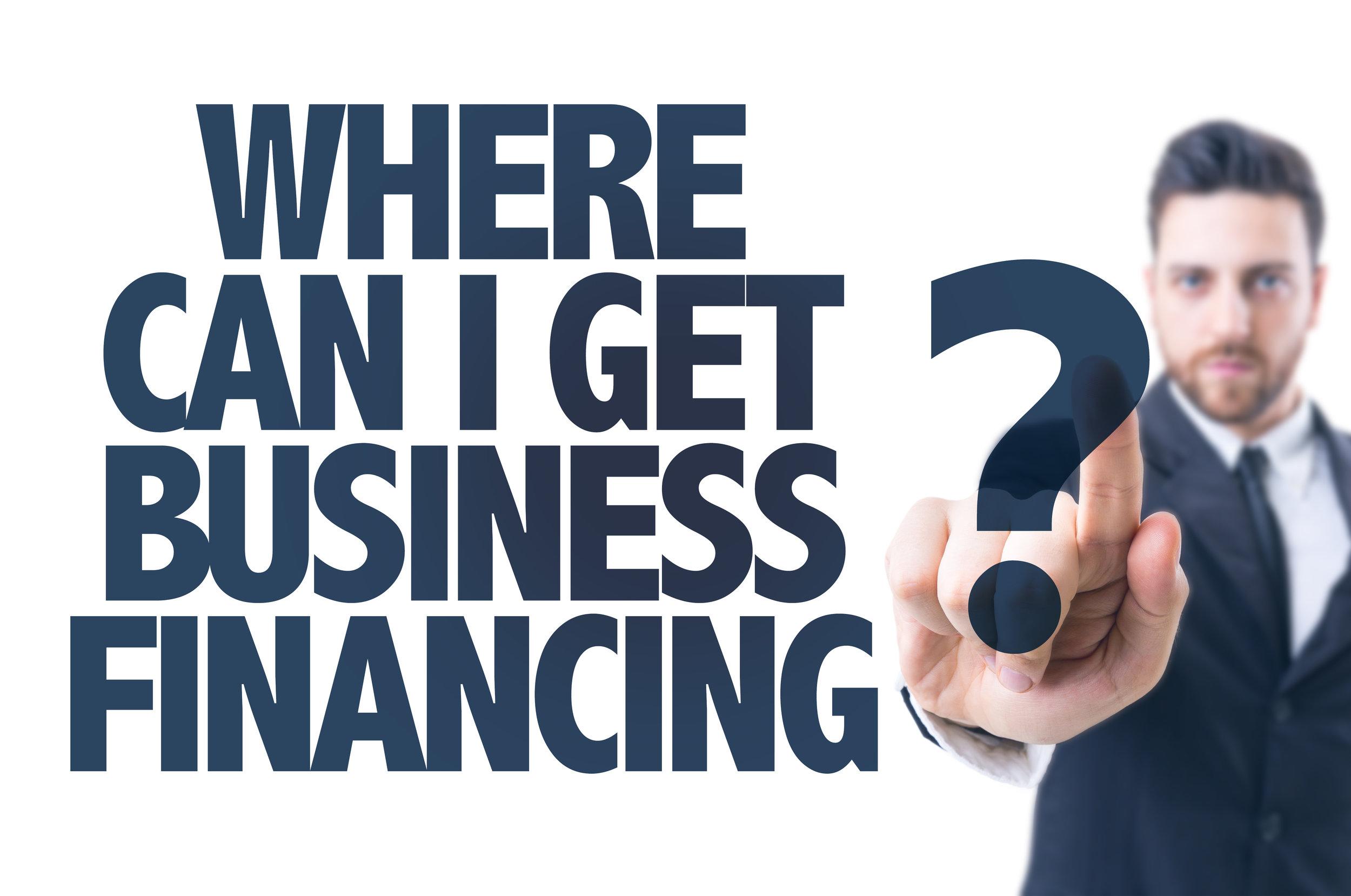 bank financing.sba loans 2018