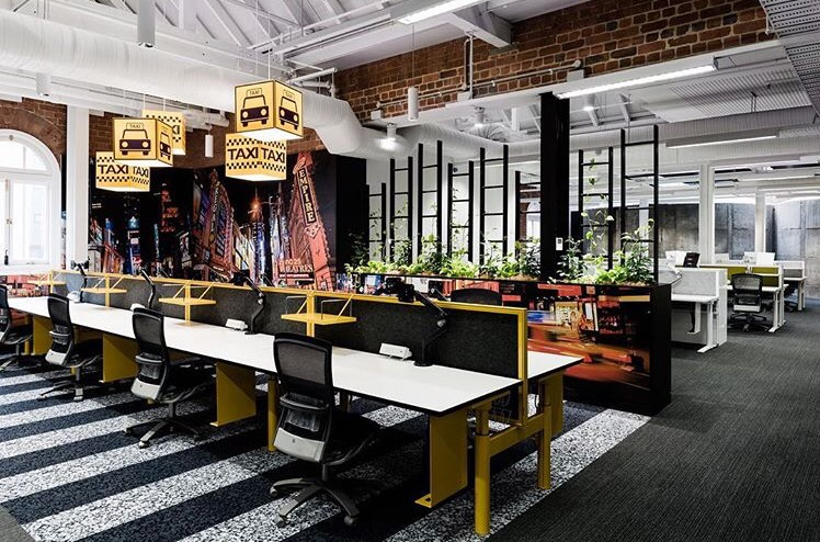 Lonely Planet Melbourne office-Siren Design
