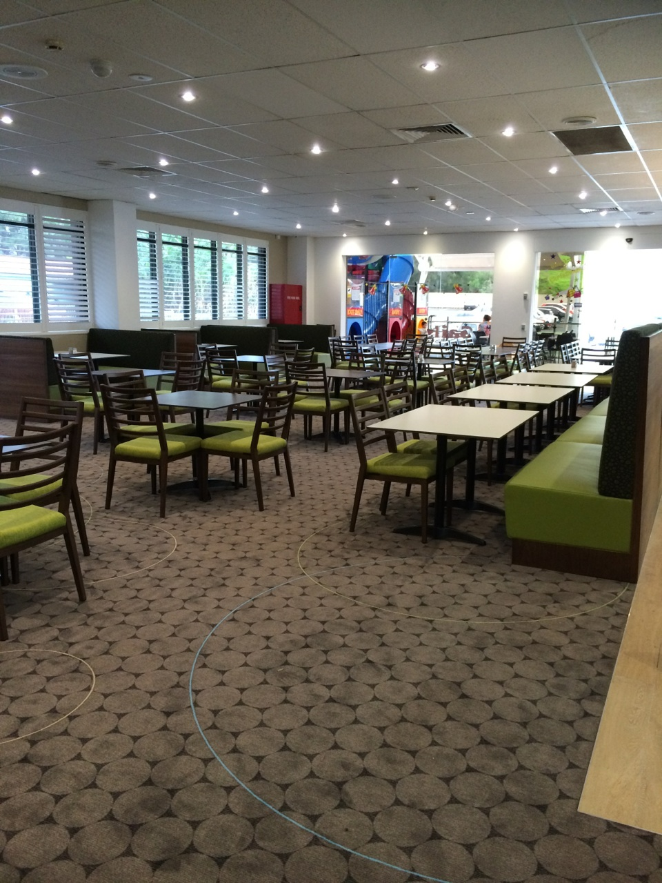 Kiama Leagues Club Bistro designed by Design Code Interiors