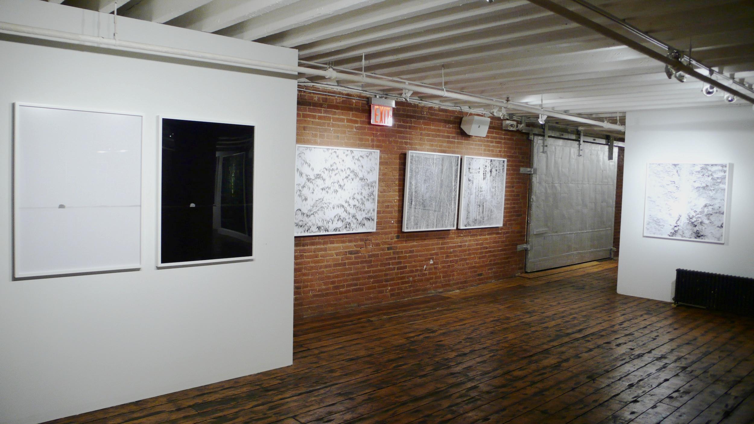 Installation view, Ithaka, 2008,New Yorker Magazine Passport To The Arts