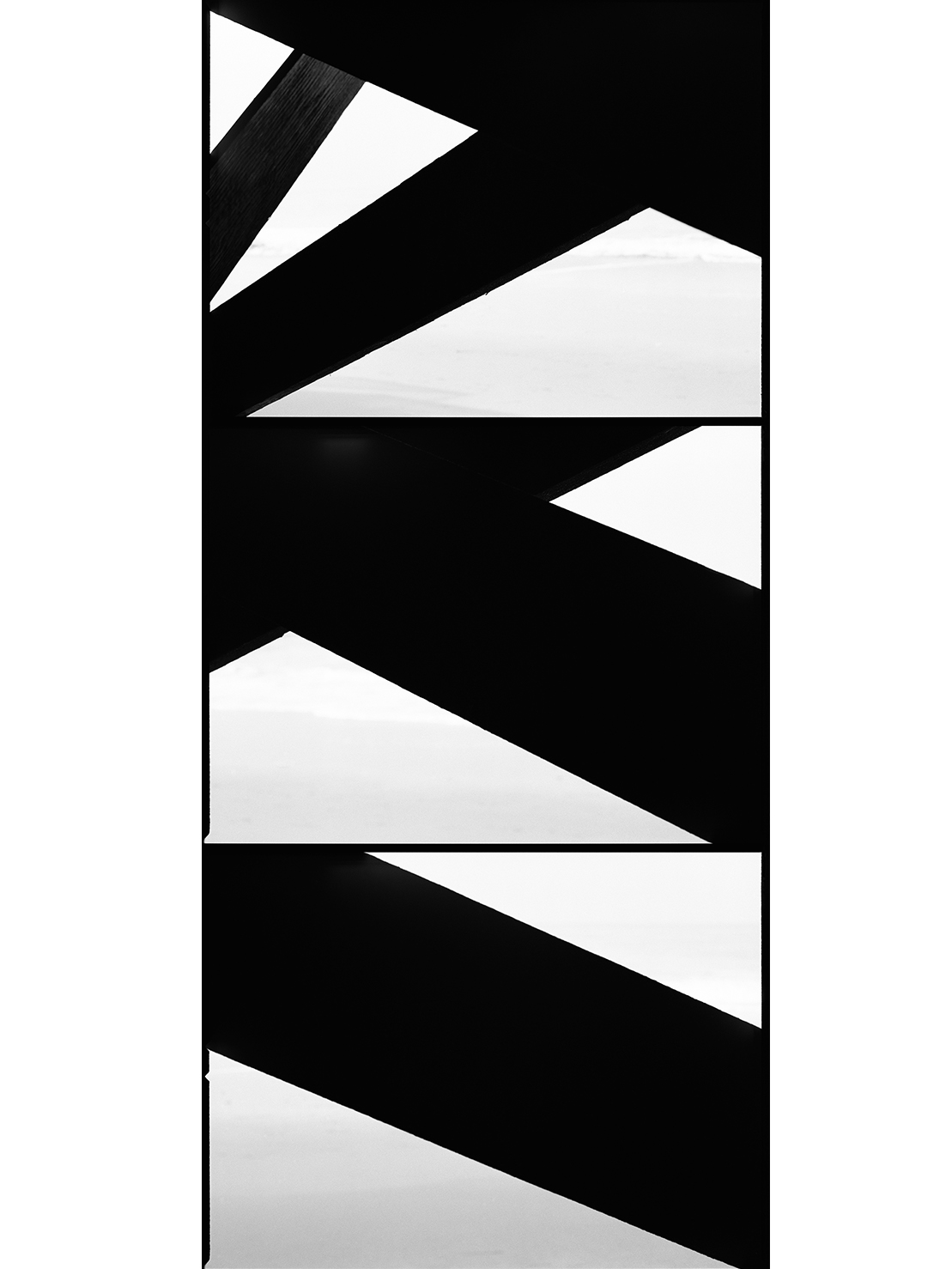 Untitled #24   (Nowhere)  , 2012/ archival pigment   print,   48 x 21 13/16  inches  ,  edition of 3 plus 2 AP