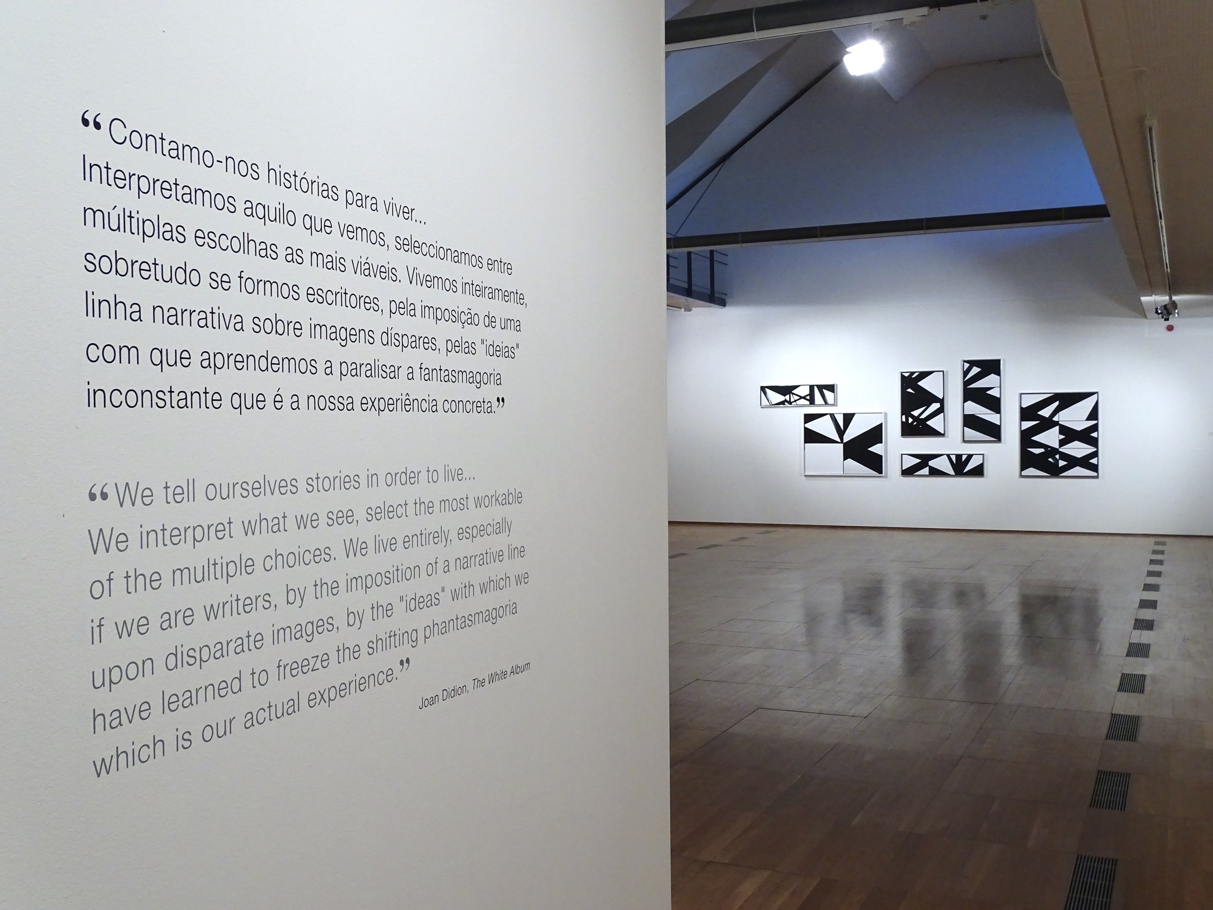 Installation View, Everybody Knows This Is Nowhere, 2016, Centro Cultural de Cascais, Portugal