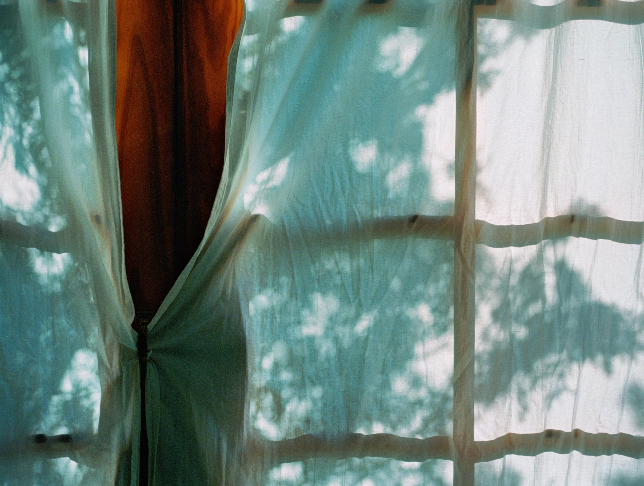 Untitled (Curtain II), 2004   /archival pigment   print, 22.5  x 30   inches  ,  edition of 5 plus 2 AP