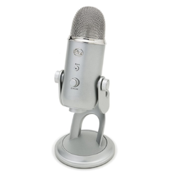 Tried & true Blue Yeti USB microphone.