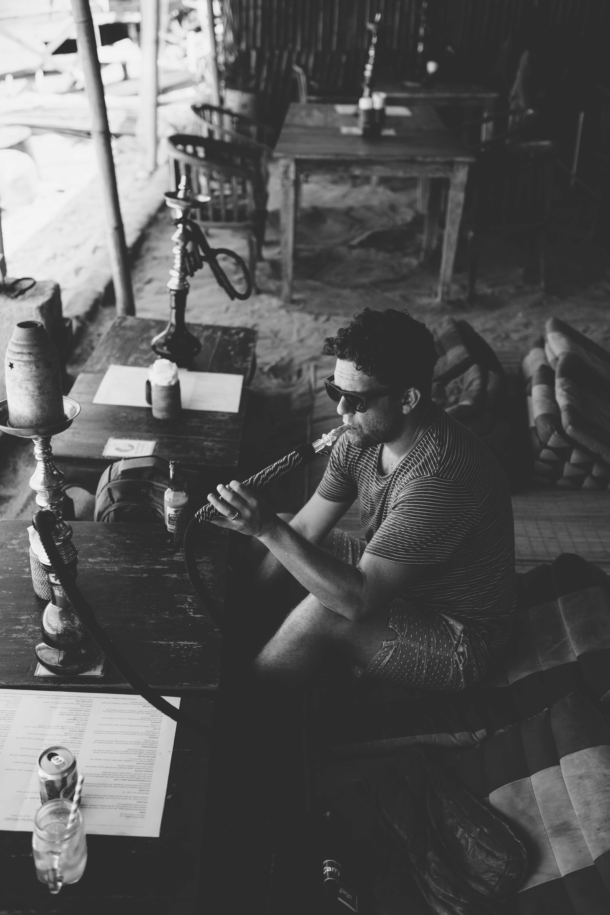 Hookah cafe in Gili T Indonesia Perth Travel Photography