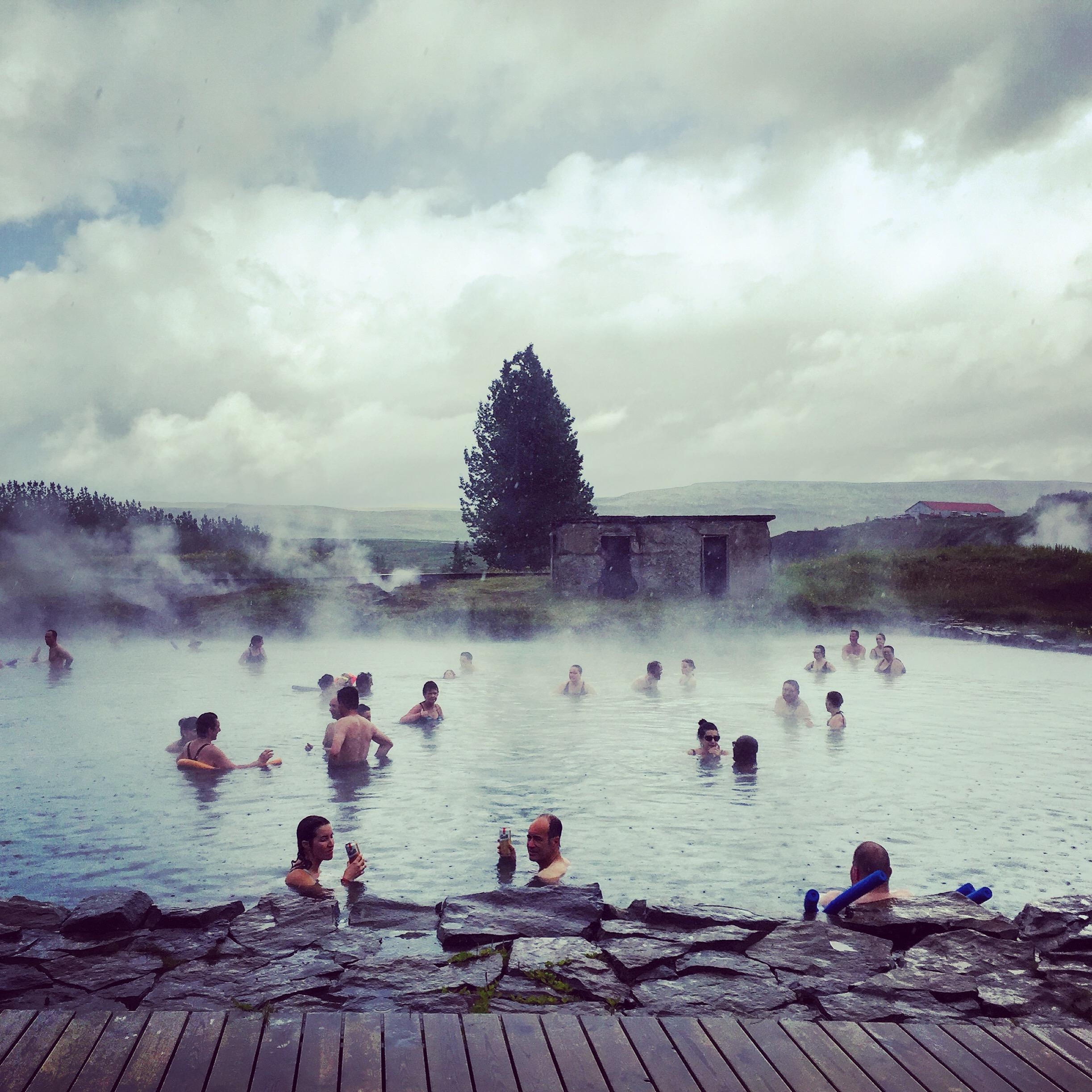 Secret Lagoon, Flúðir, Iceland
