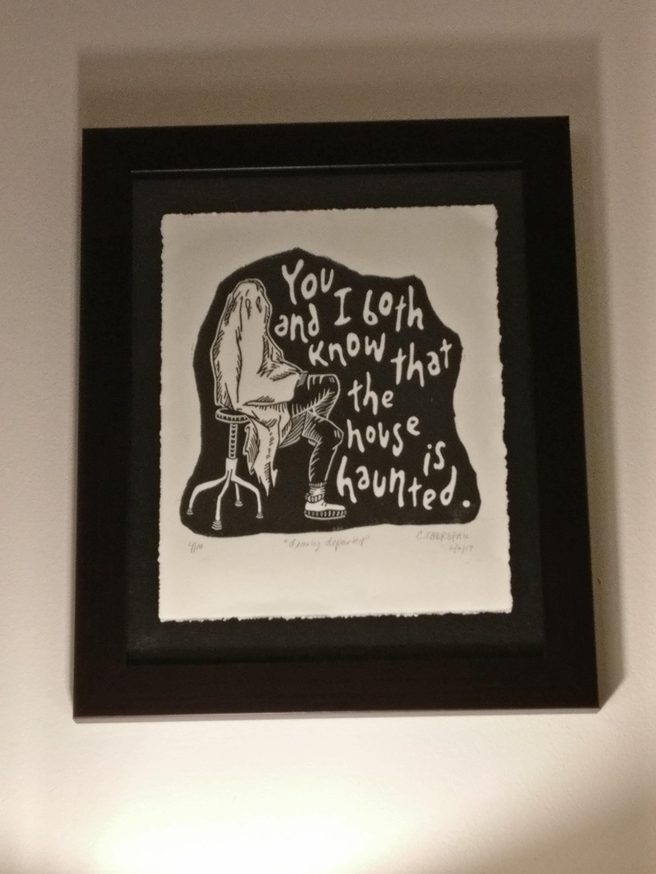 Art by Cydney Frances.  Dearly Departed.  4/10