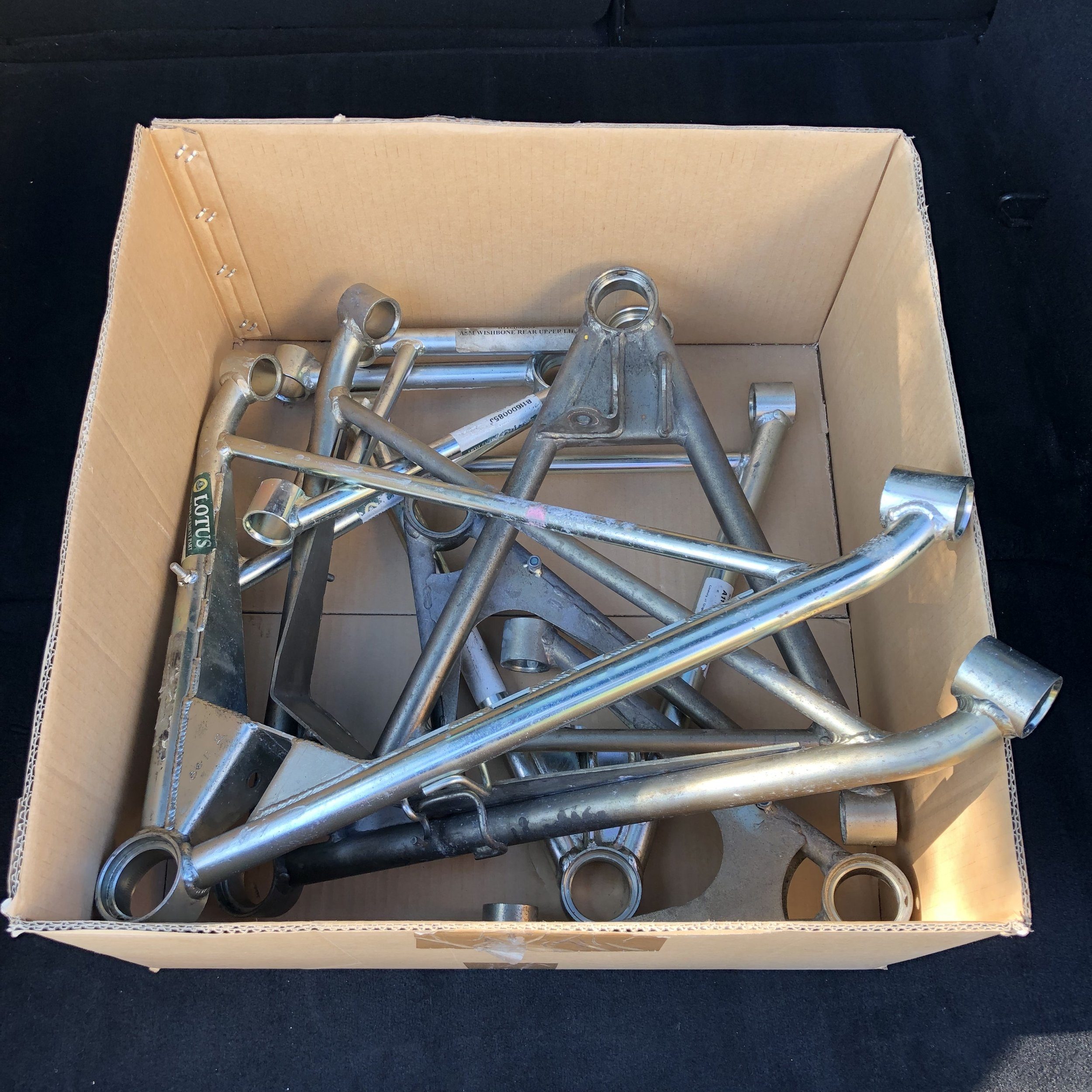 Time to refresh these tired looking wishbones…