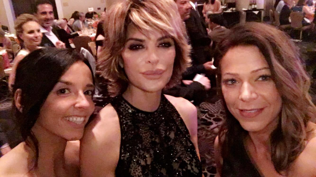 Selfie time with Lisa Rinna