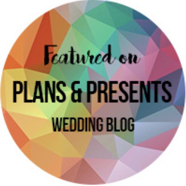 Plans & Presents wedding Blog featured 11/30/2017