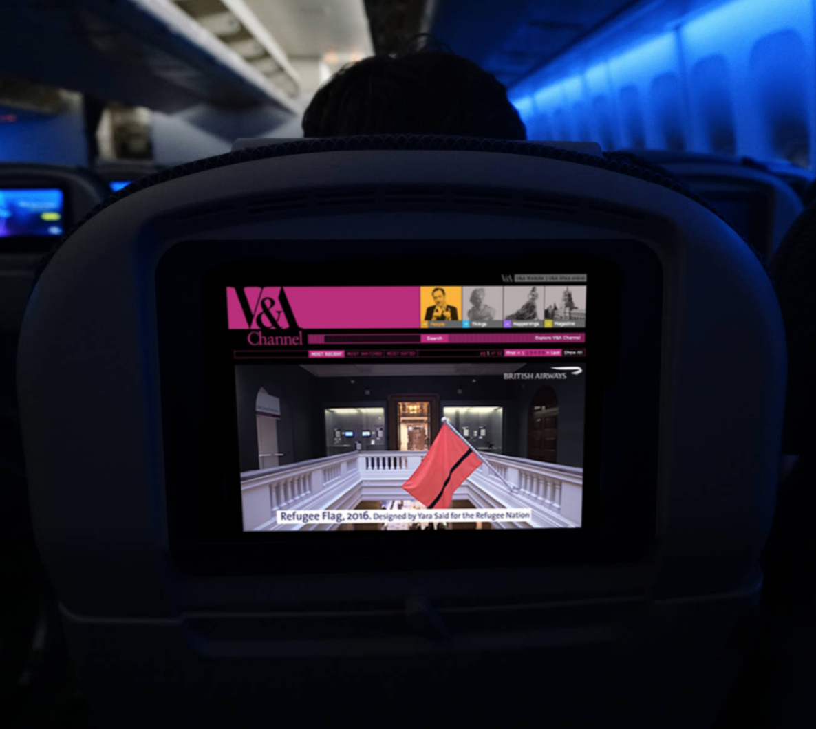 british airways inflight entertainment -