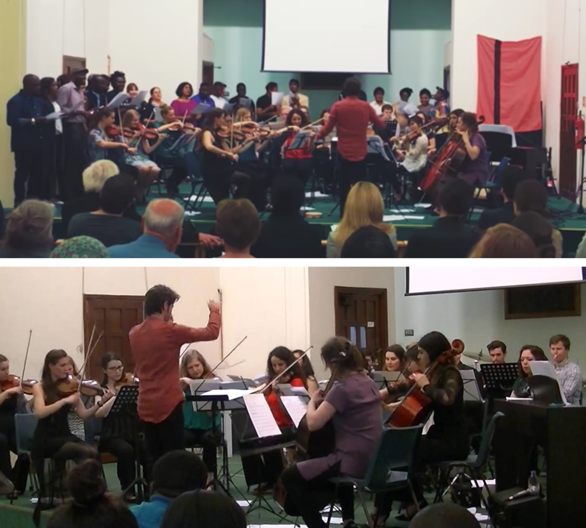 RefugeeOrchestra London -