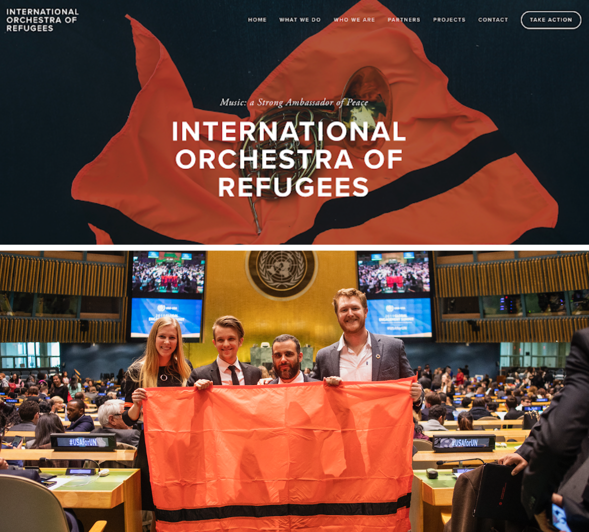 International Orchestra of Refugees -