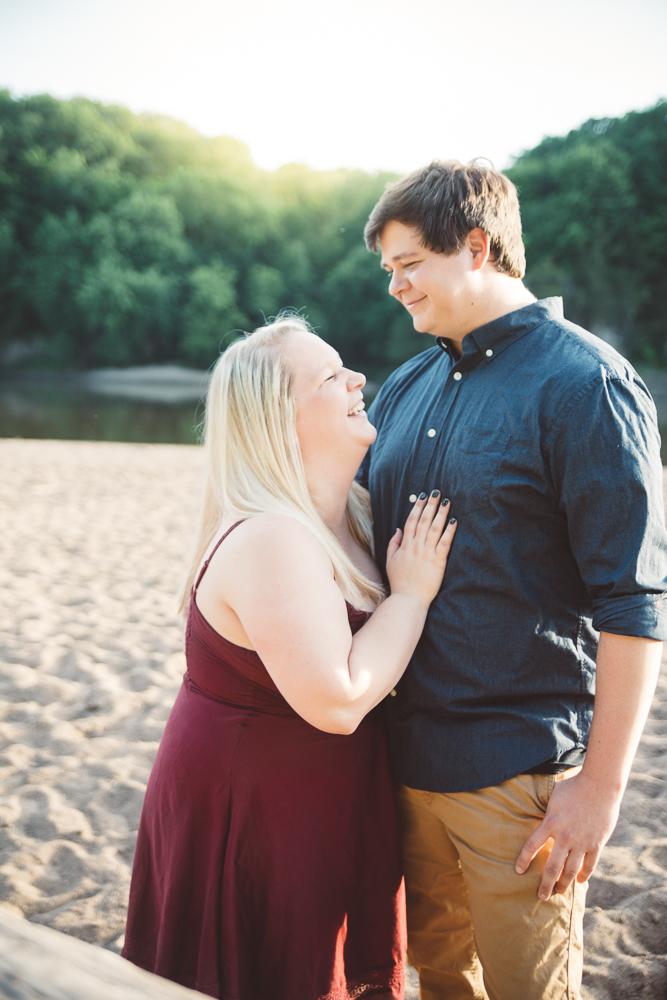 Bri & Nate engagement  - 2017