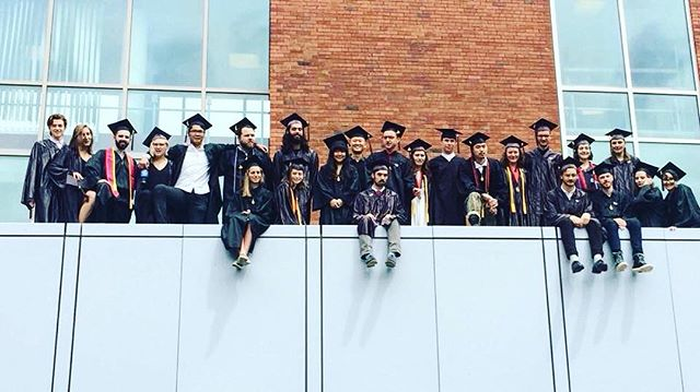 We out here now!! Thanks to all our friends and family for the love these past five years. We're already feeling nostalgic 😭 regram from @teribird . . . . . #ucid17 #ucgrad17 #classof2017