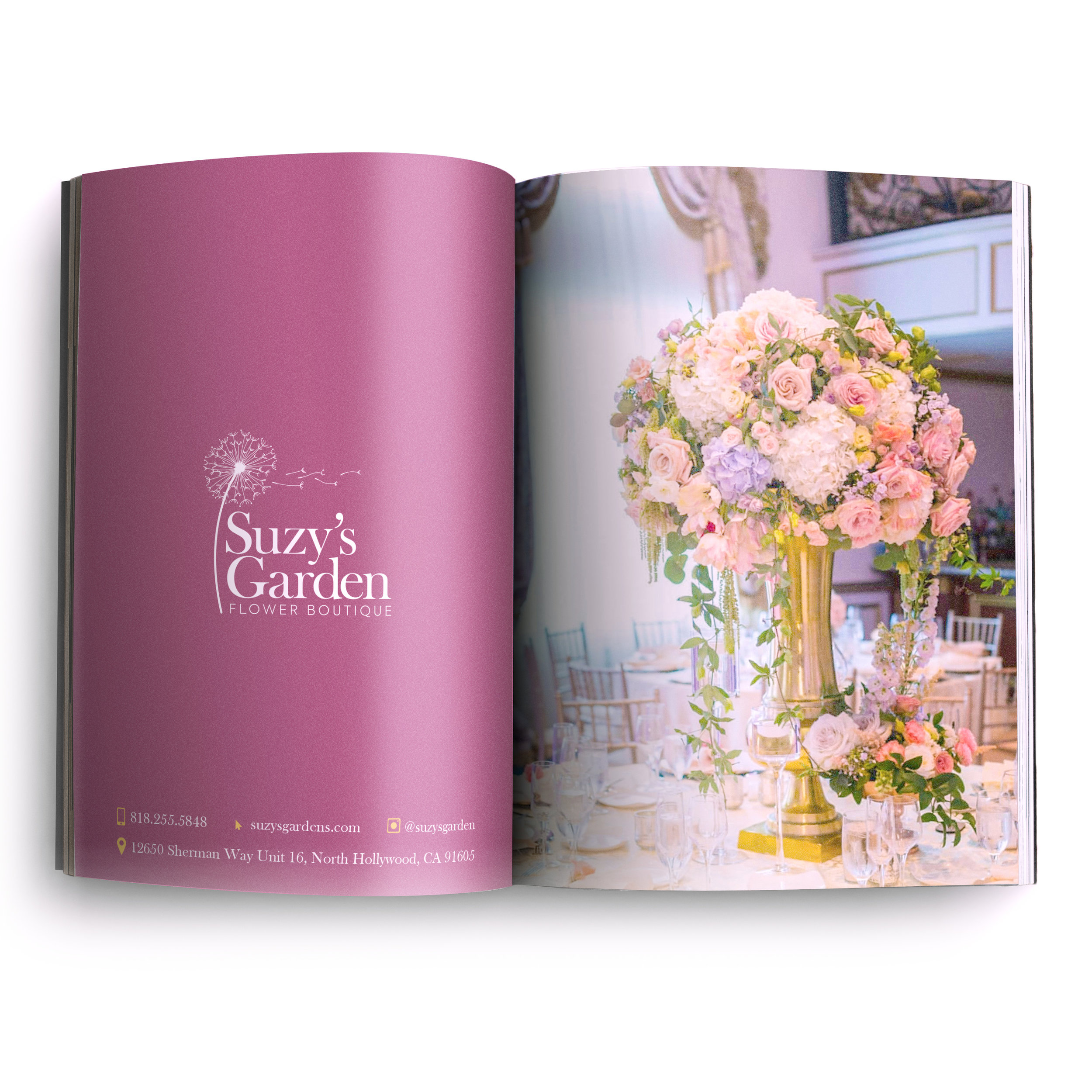 Suzy's Garden - Los Angeles based flower shop.