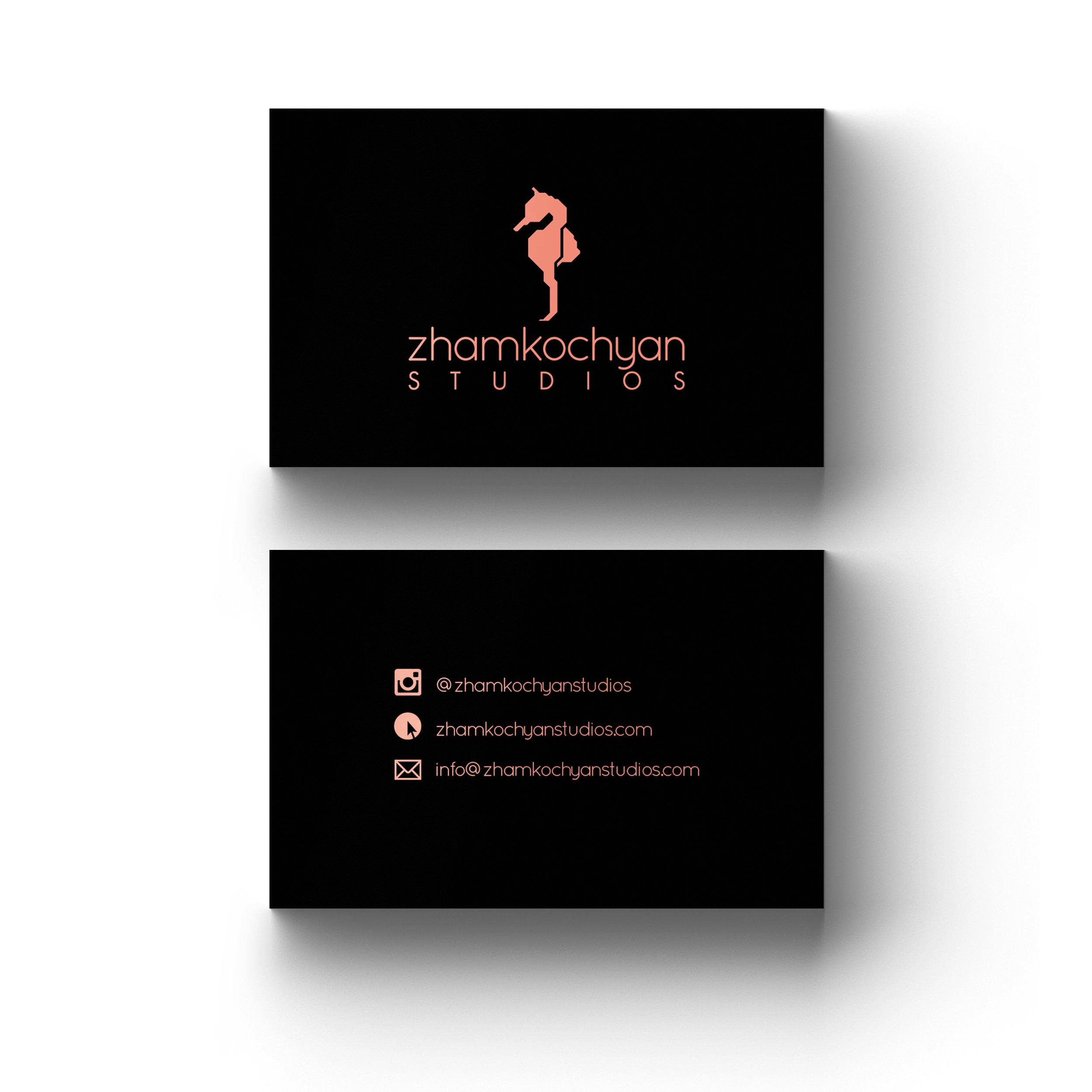 Zhamkochyan Studios Business Cards (1)