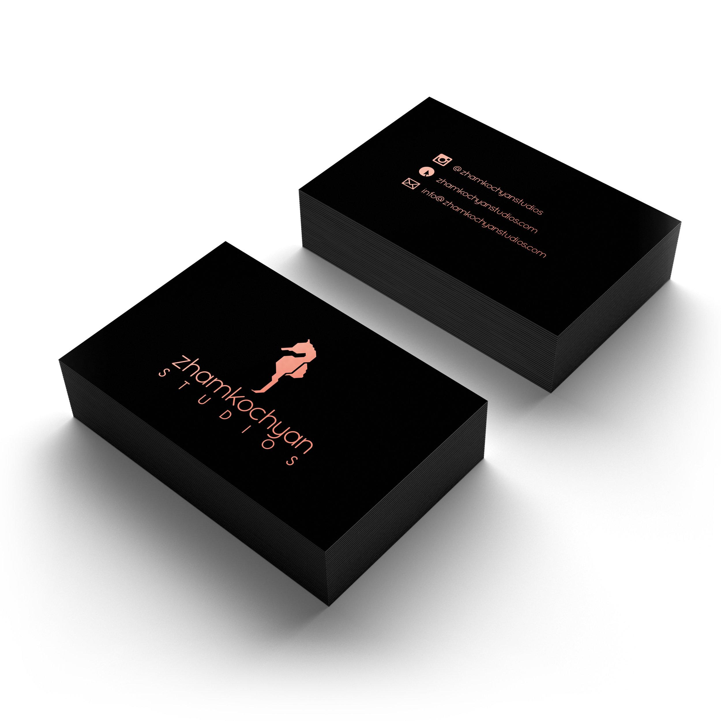 Zhamkochyan Studios Business Cards (2)