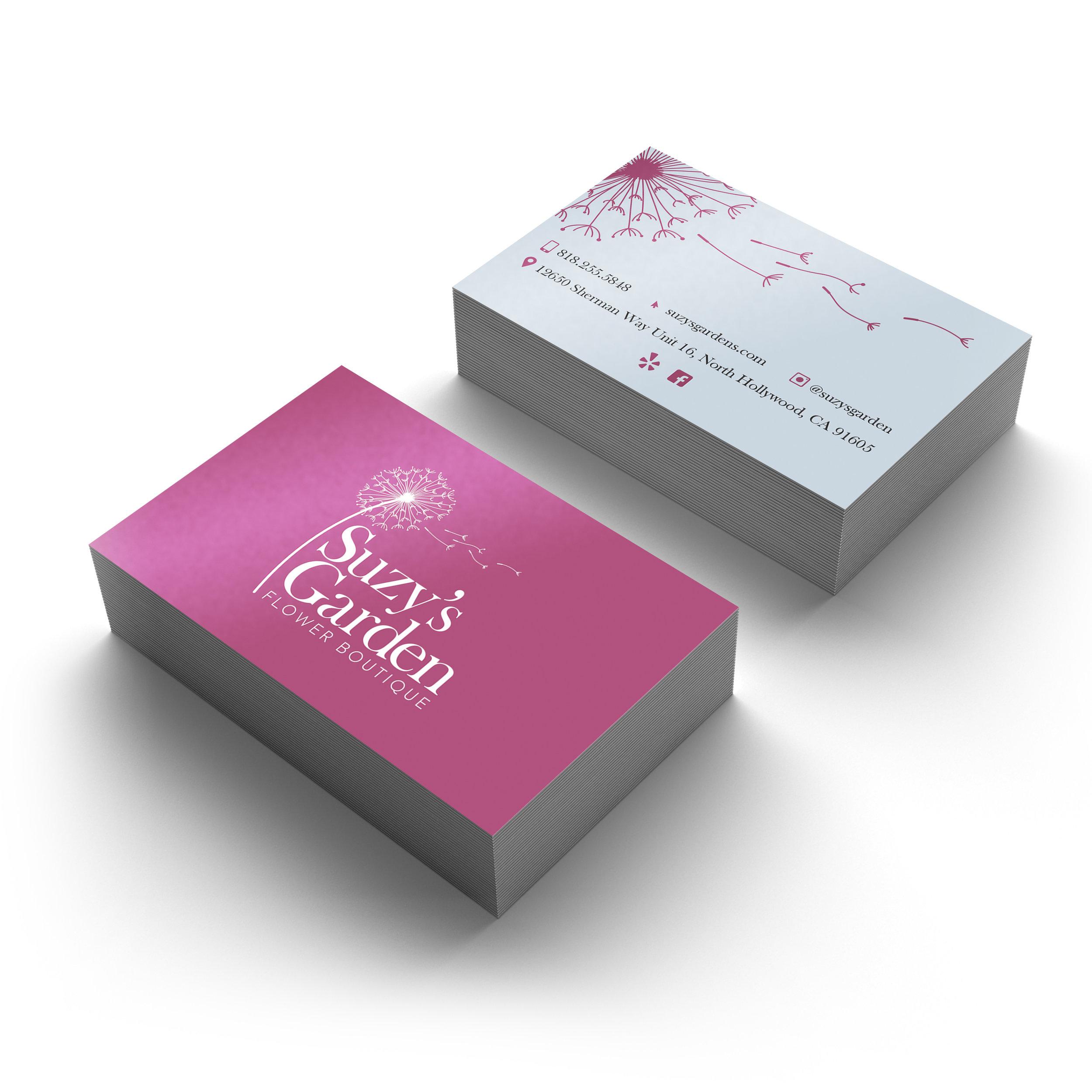 Suzy's Garden Business Card (2)