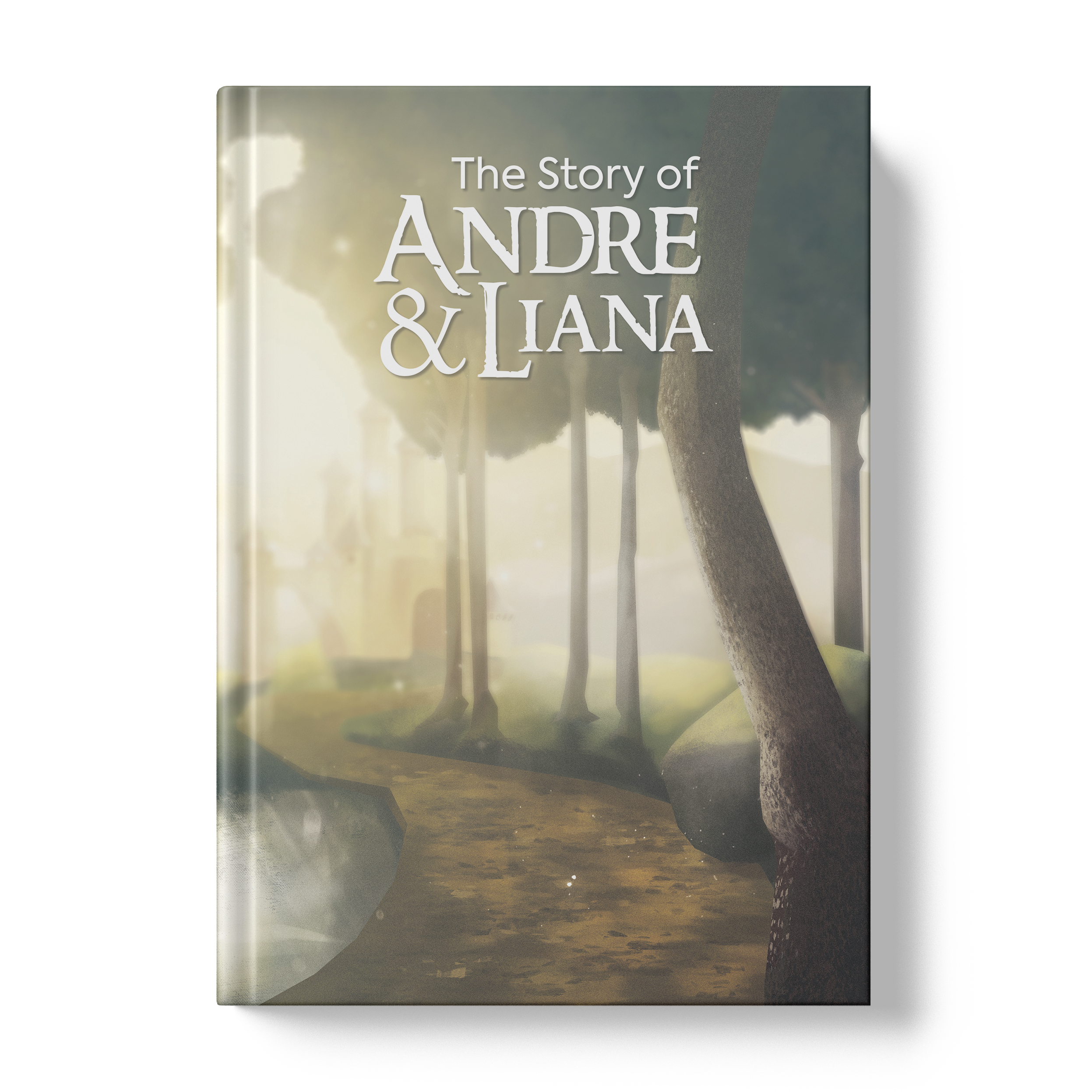 The Story of Andre and Liana (Front Cover)