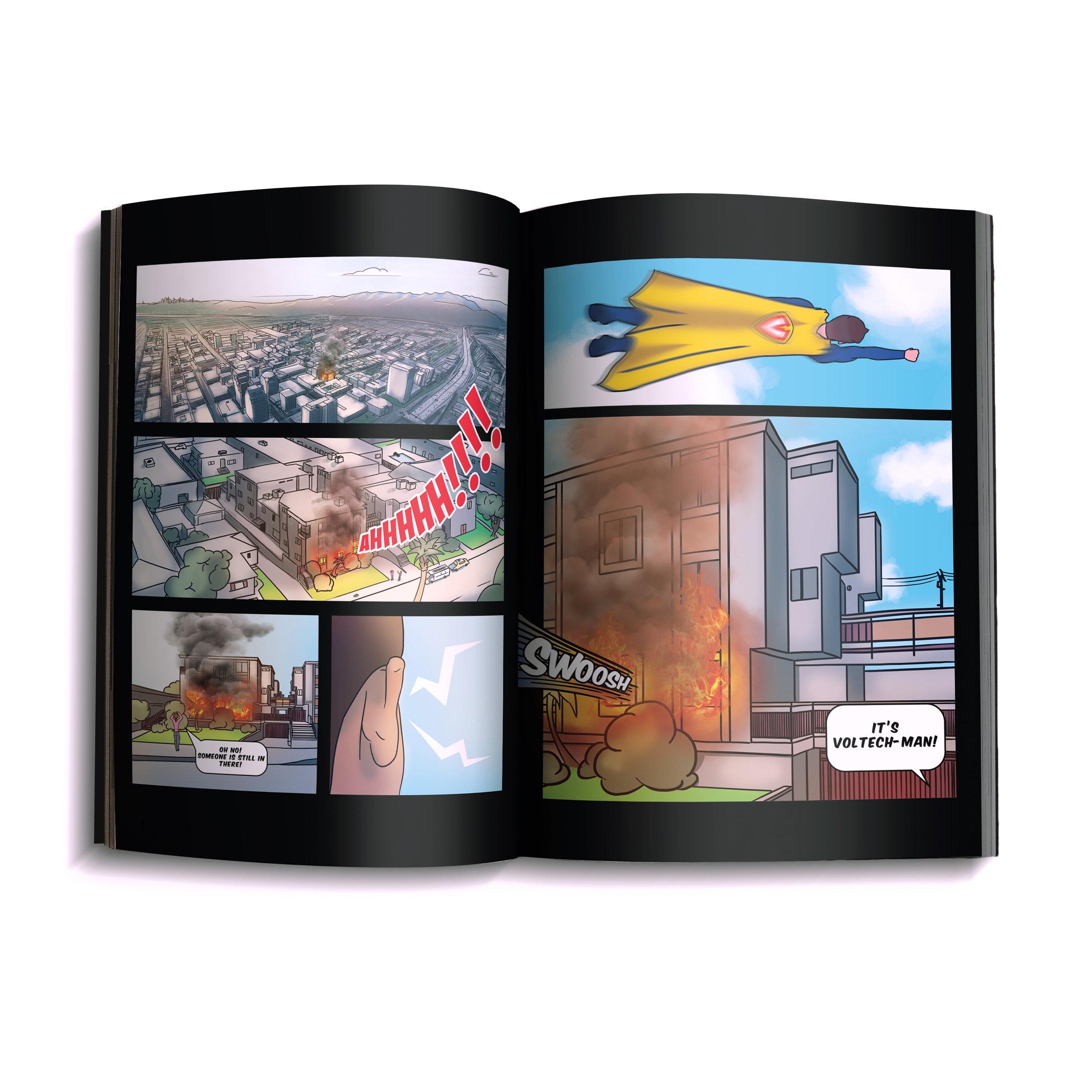 Voltech-Man Comicbook (2)