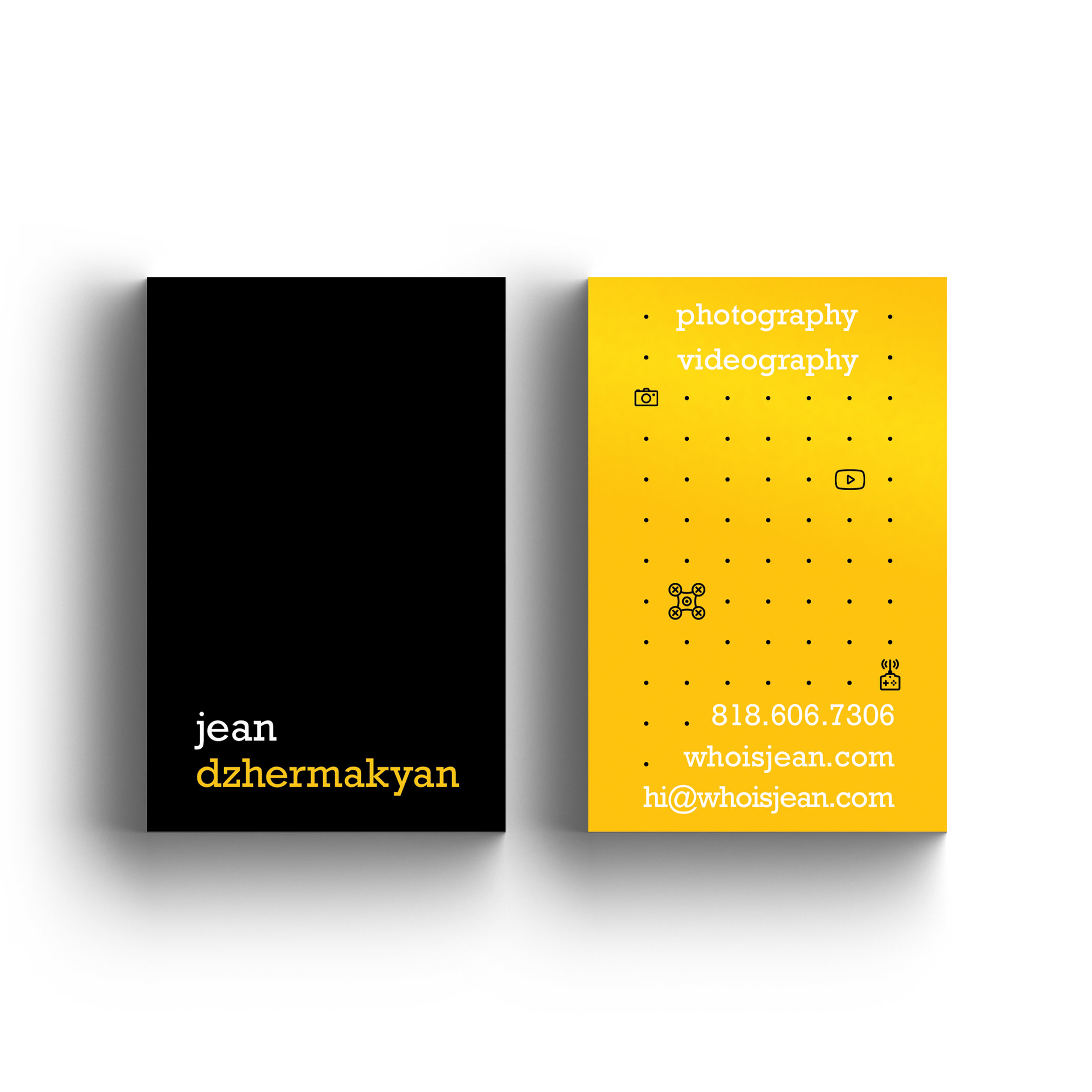Jean Dzhermakyan Business Cards