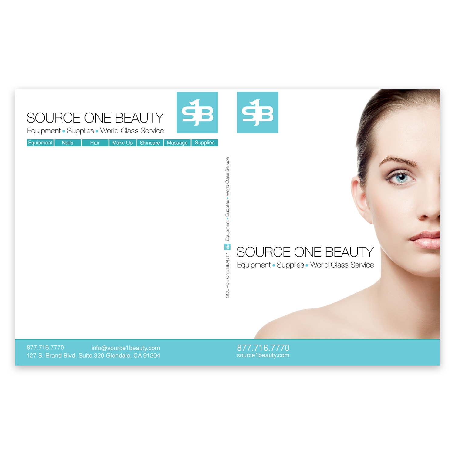 Source One Beauty Magazine Cover