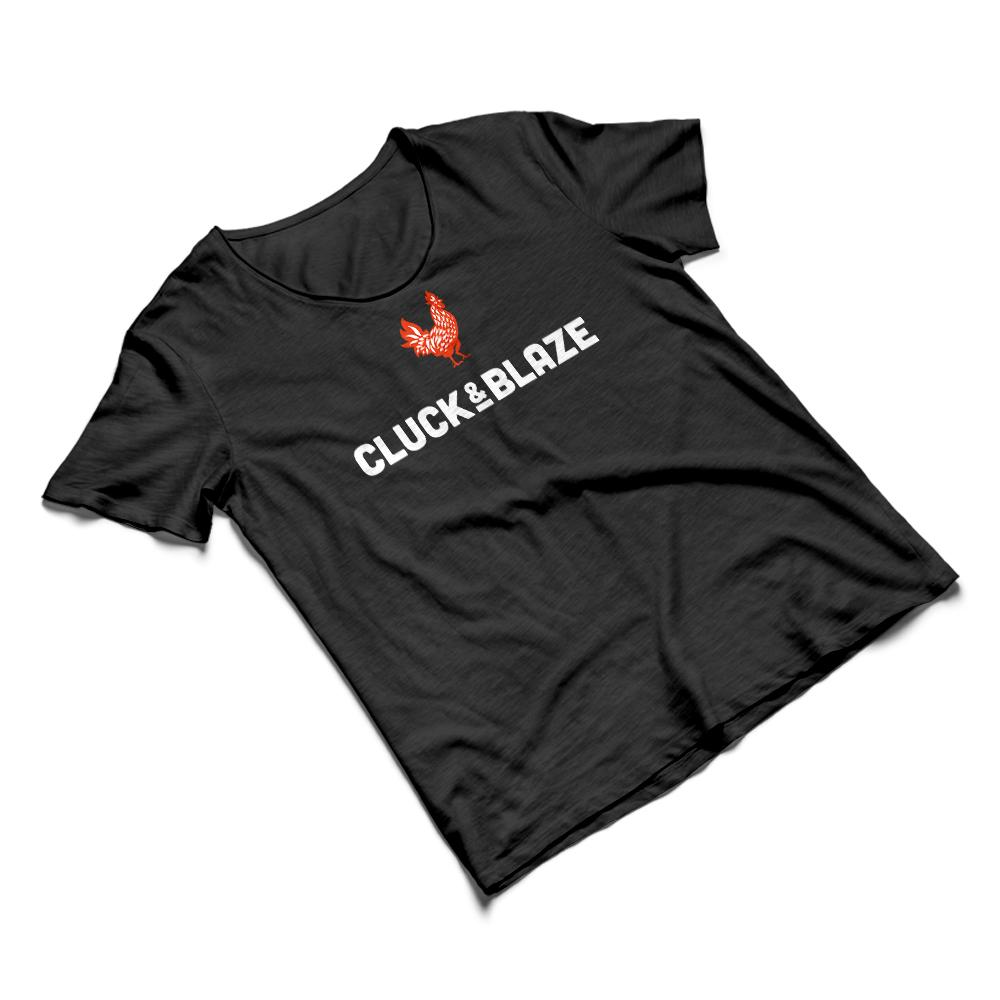 Cluck & Blaze T-Shirt (1)