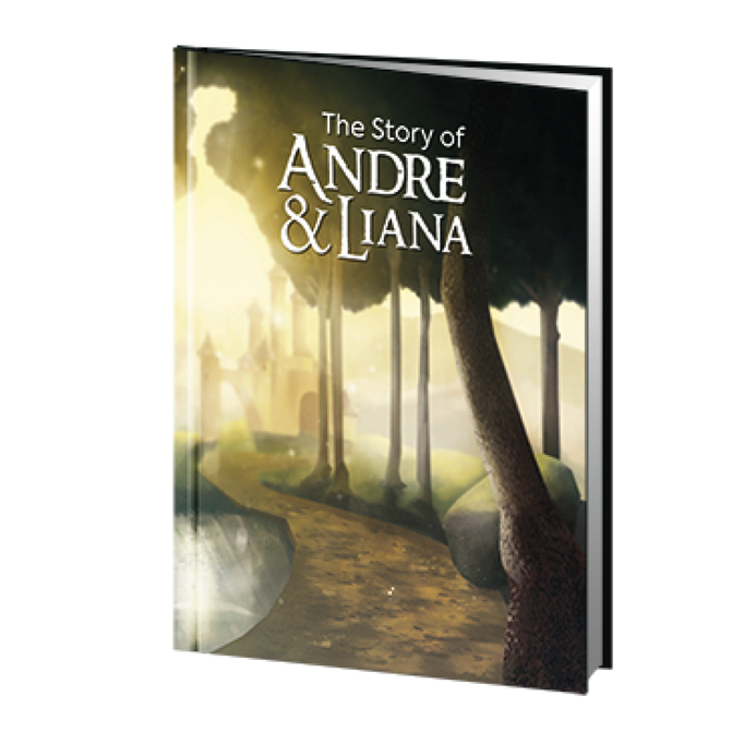 The Story of Andre & Liana - Story & Illustration by Grant Pogosyan