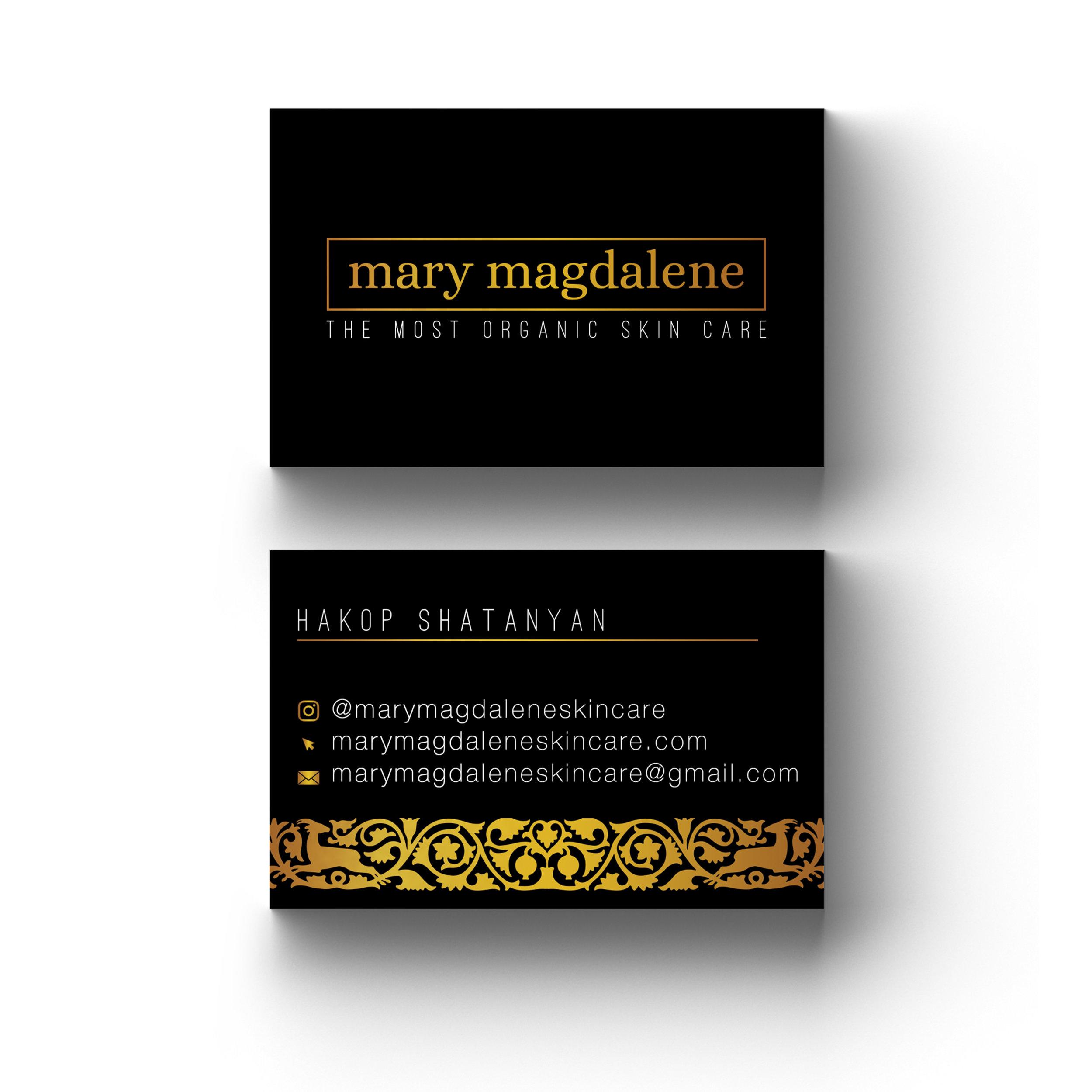 Mary Magdalene Skincare Business Cards (1)