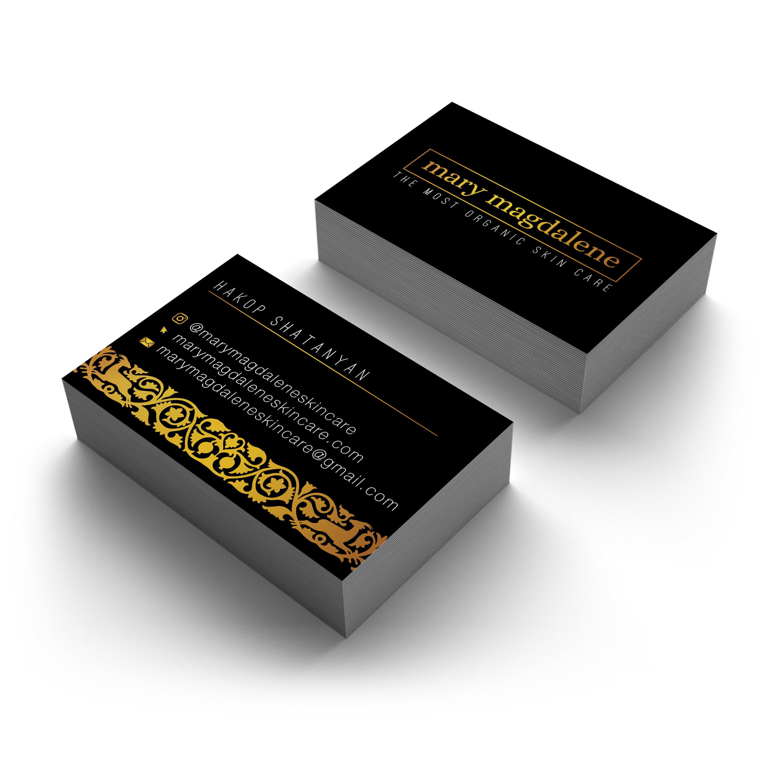 Mary Magdalene Skincare Business Cards (2)