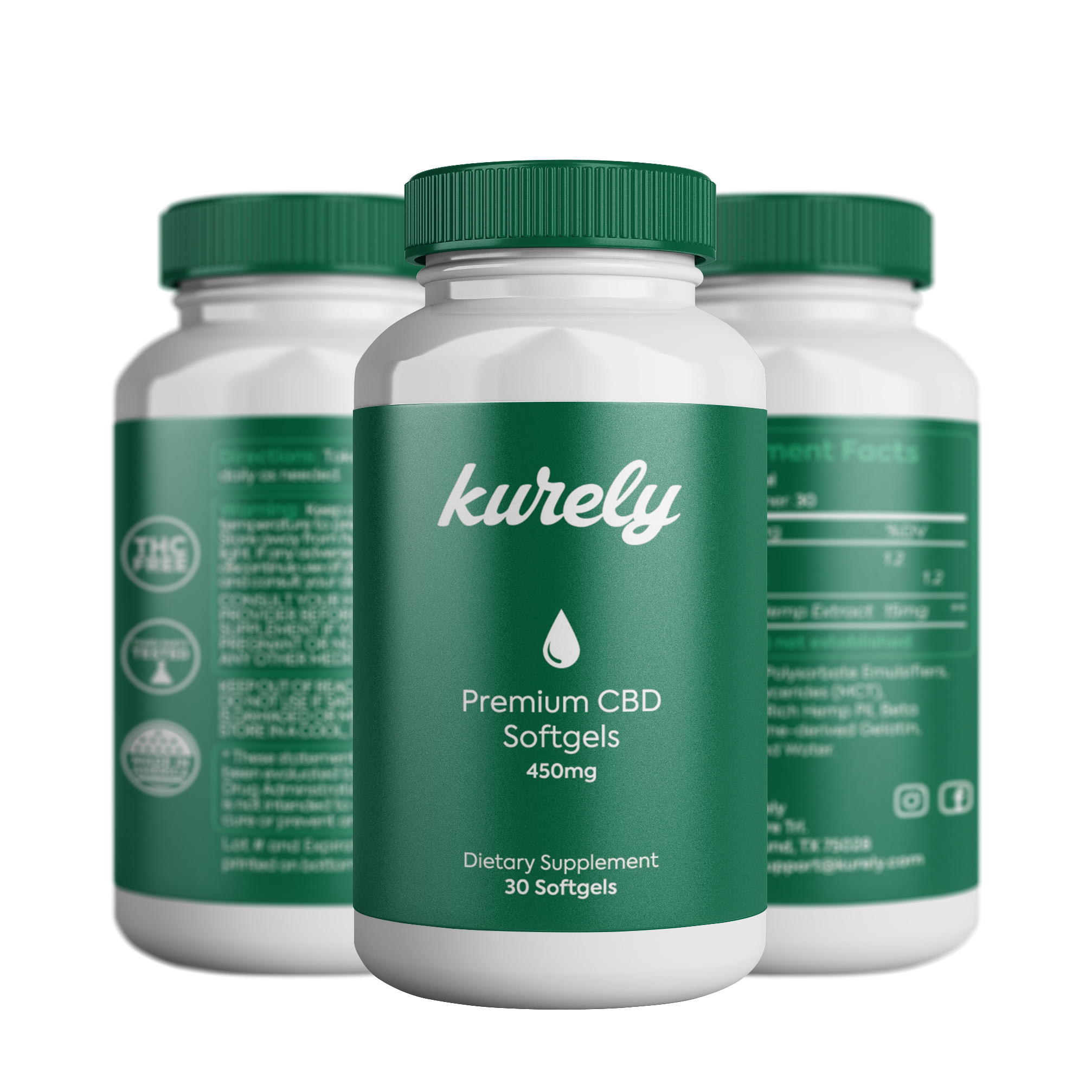 Kurely - CBD oil brand with a purpose.
