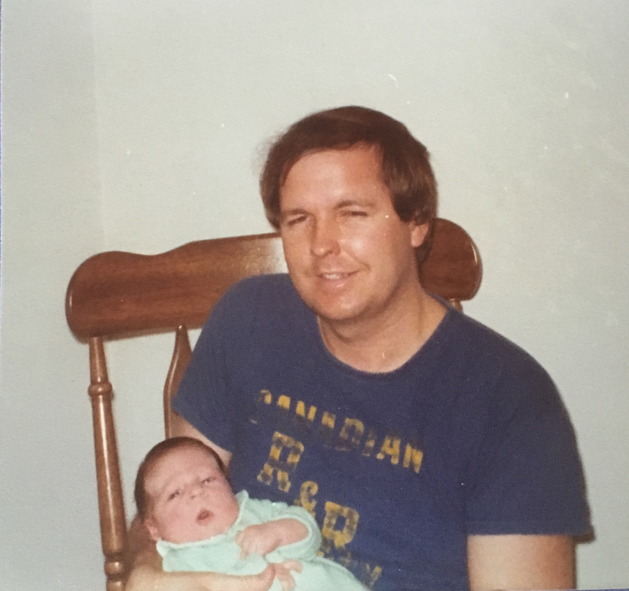 My dad and me in 1978, the year the list was born