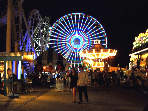The swings and the Wonder Wheel (photo by  Steven Seighman )
