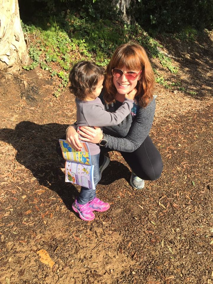 My friend Kelly Solis hiking in California with her daughter, Ava (all photos courtesy of Kelly Solis)