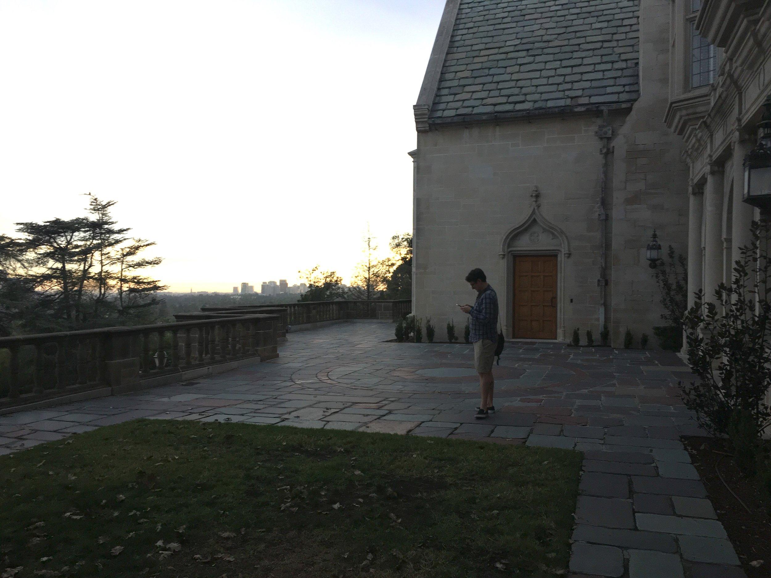 Steven at Greystone Mansion