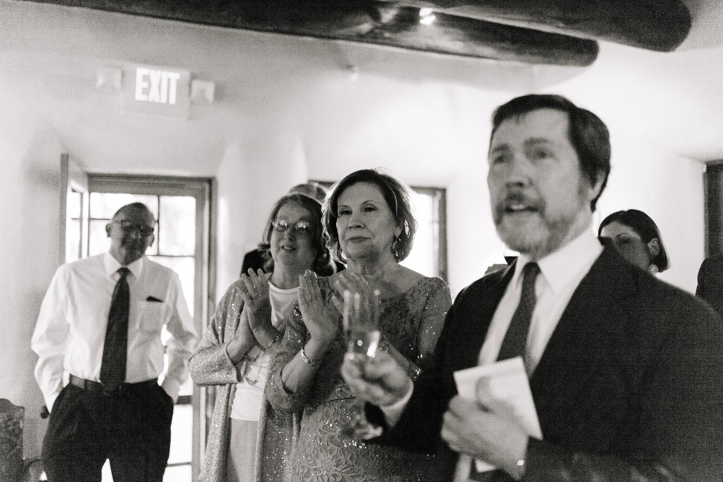 Papa John, Steven's mom, my mom and Uncle David (photo by  Joni Bilderback )