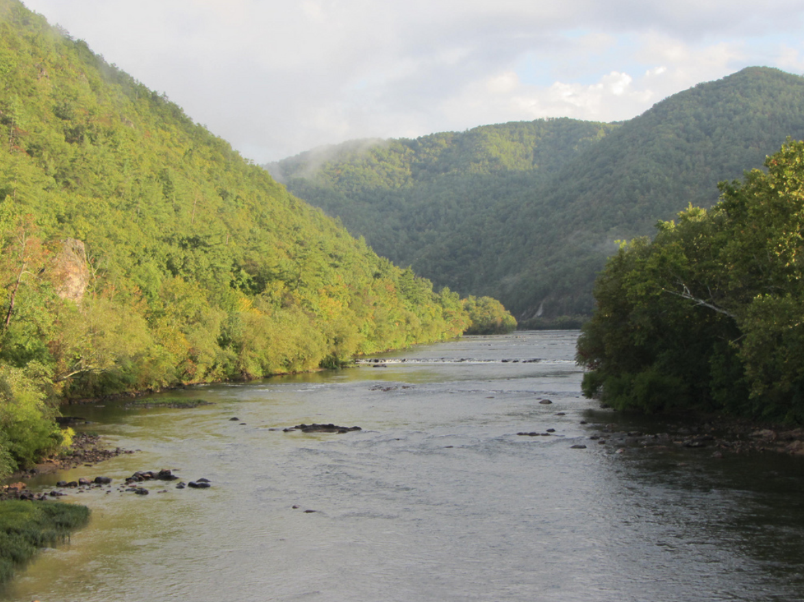 The French Broad River (photo by  David Wilson )