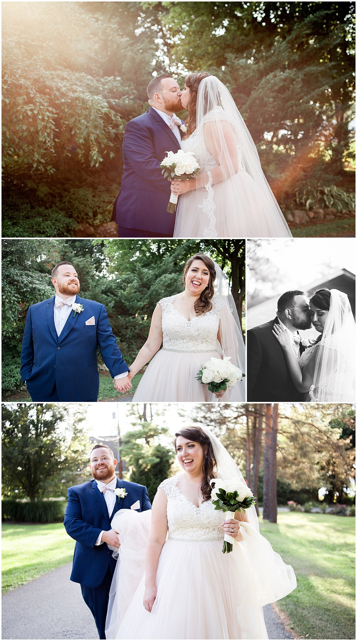 bride and groom erie pa wedding photographer