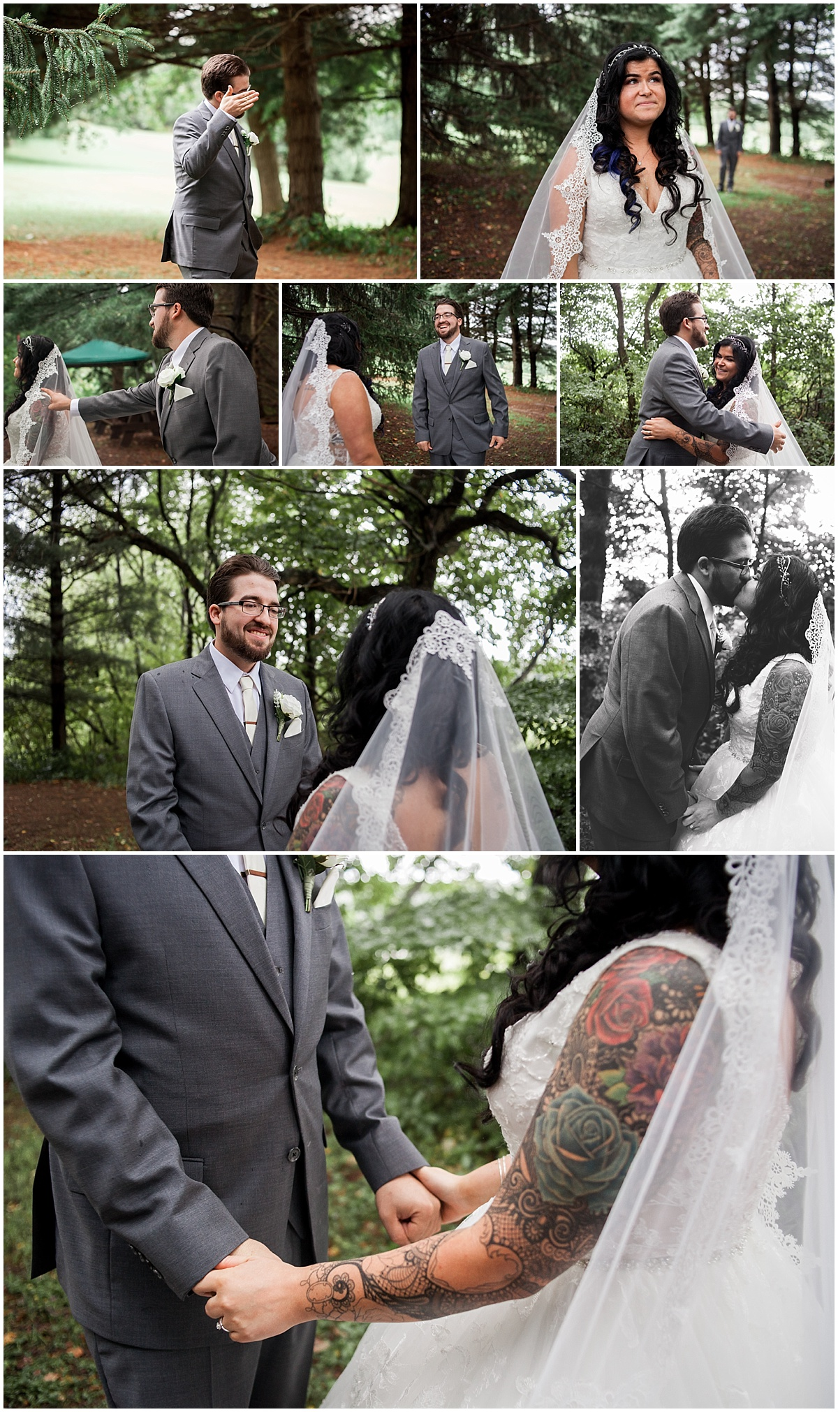 first look wedding photographer pittsburgh pa