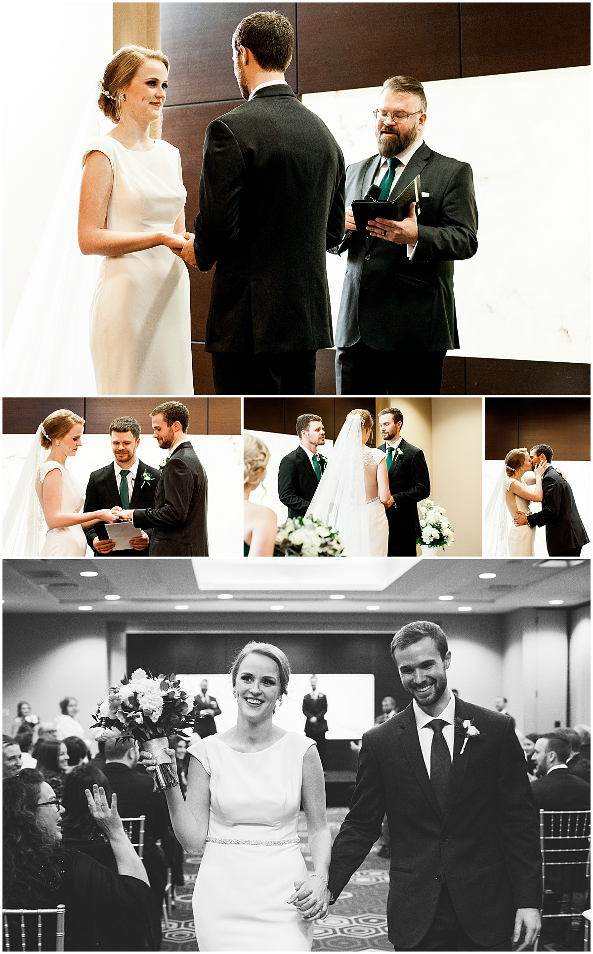 pittsburgh downtown doubletree wedding ceremony