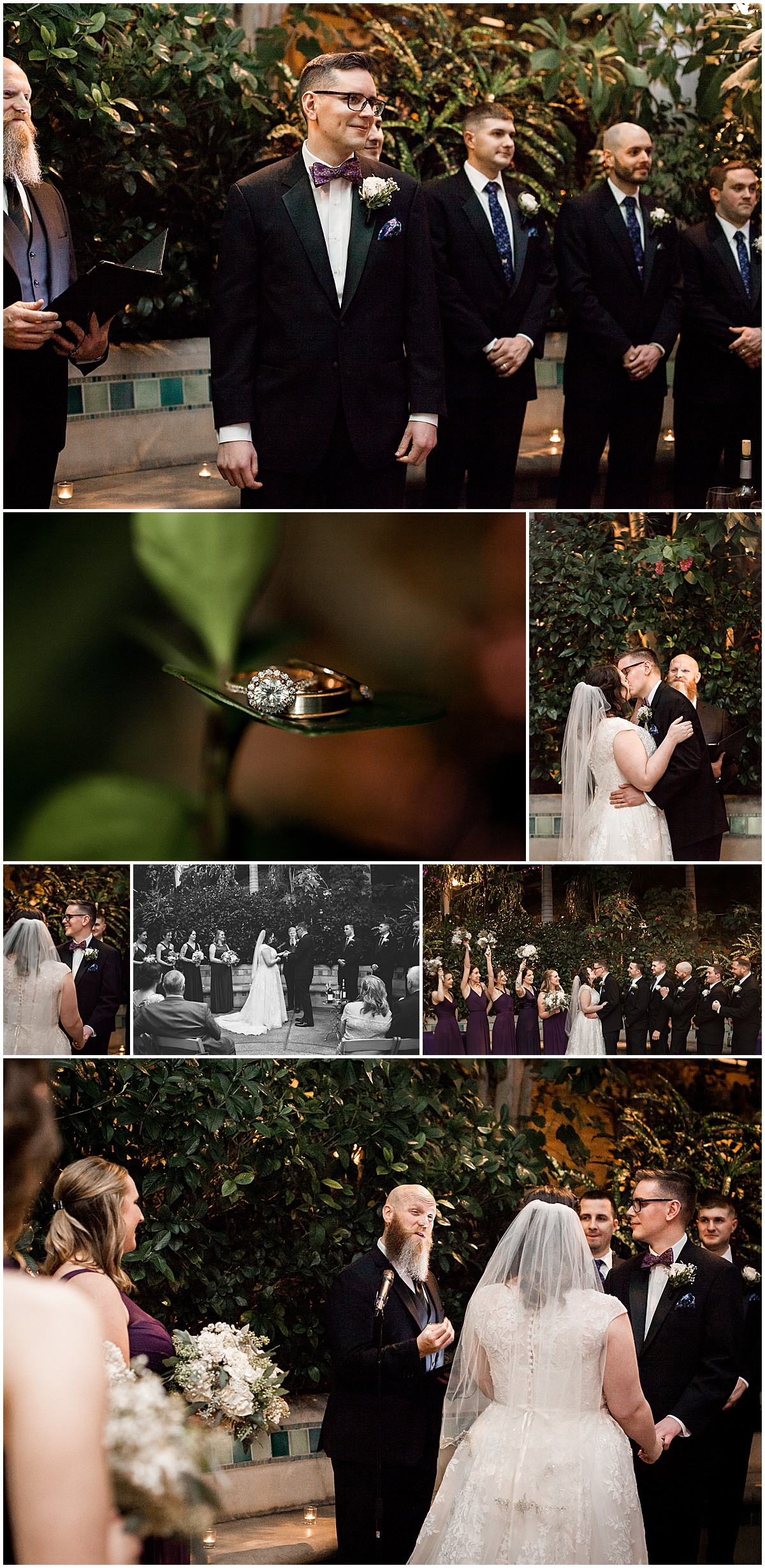 bride and groom phipps wedding ceremony